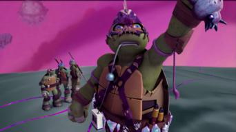 Teenage Mutant Ninja Turtles: Season 2: Into Dimension X!