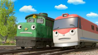 Episode 6: The Choo-Choo Town Trio / Fix and Lift Are Busy Bees